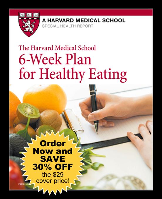 6-Week Plan for Healthy Eating