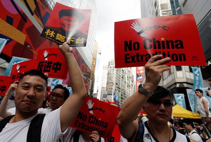 Người Hồng Kông biểu tình chống Trung Quốc chính là vì không muốn bị đặt dưới sự cai trị của ĐCSTQ