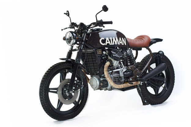 Urban Scrambler: a Honda CX500 built for the streets of Johannesburg.
