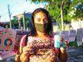 Cruzire Ruiz, de 34 anos, é uma das lideranças do abrigo Latife Salomão que participaram da iniciativa