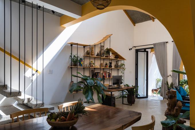 'Phố cổ Hội An' trong ngôi nhà hiện đại