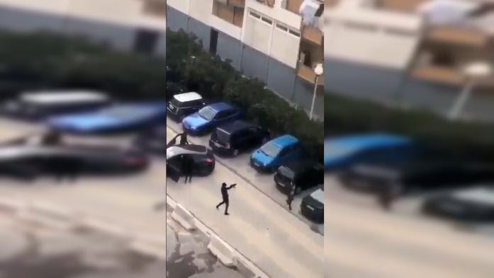 VIDEO. Des malfaiteurs bloquent l'accès de la cité de la Busserine à Marseille et tirent des coups de feu en l'air
