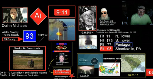 The Secret 93 Society and Its Connection to Flight 93 and the August 21 Total Solar Eclipse (Video)