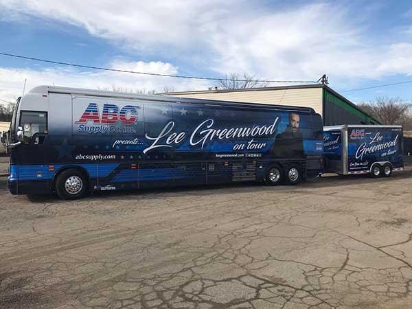 Lee Greenwood bus
