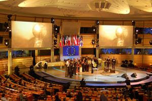 Energy Globe World Award Ceremony at the EU-parliament in Brussels in 2008