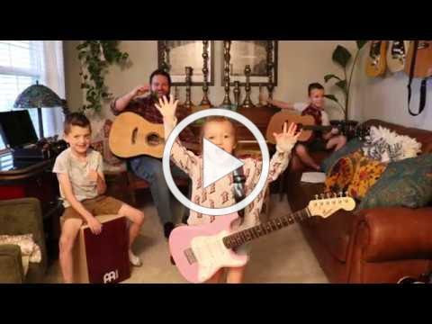 "Colt Clark and the Quarantine Kids perform ""Baba O'Riley"""