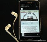 Listen to Podcasts on your phone