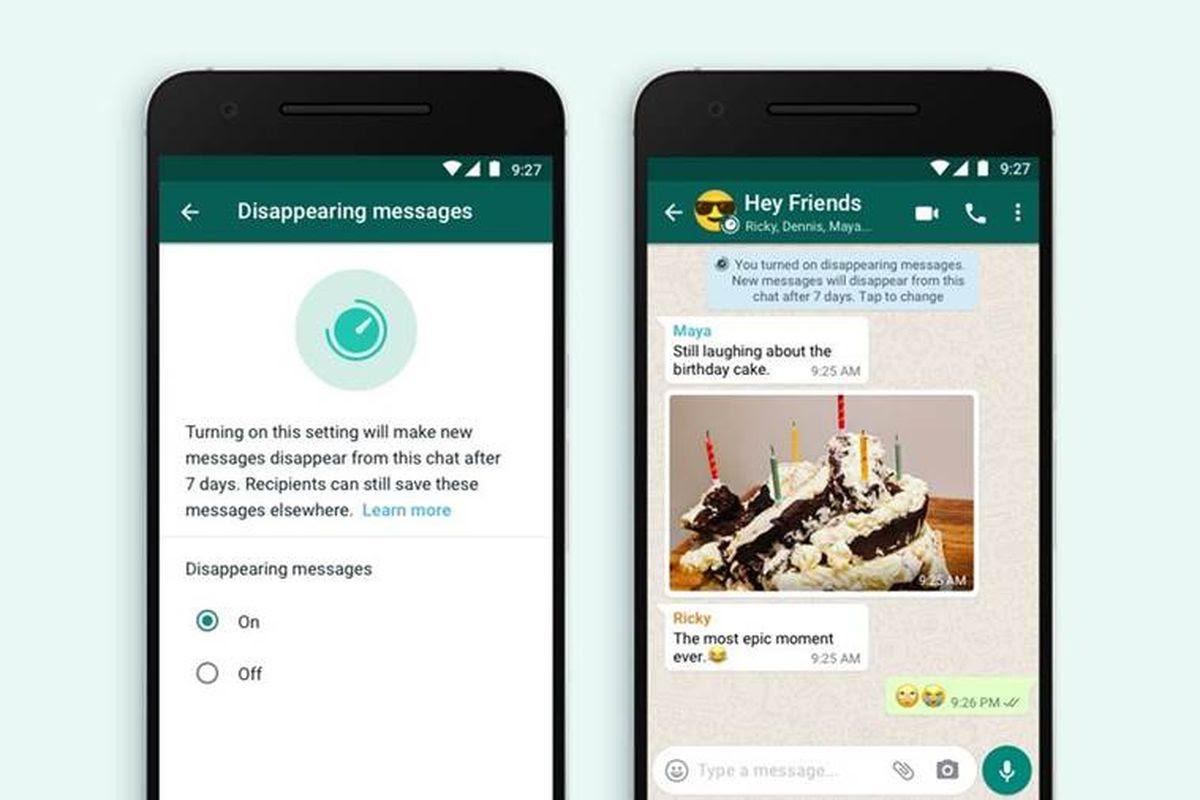 disparition des messages sur whatsapp 2