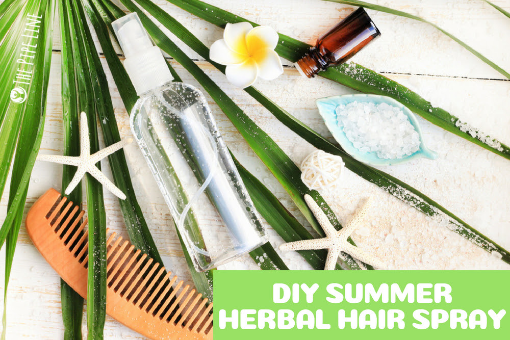 A DIY HERBAL SPRAY TO USE ALL.