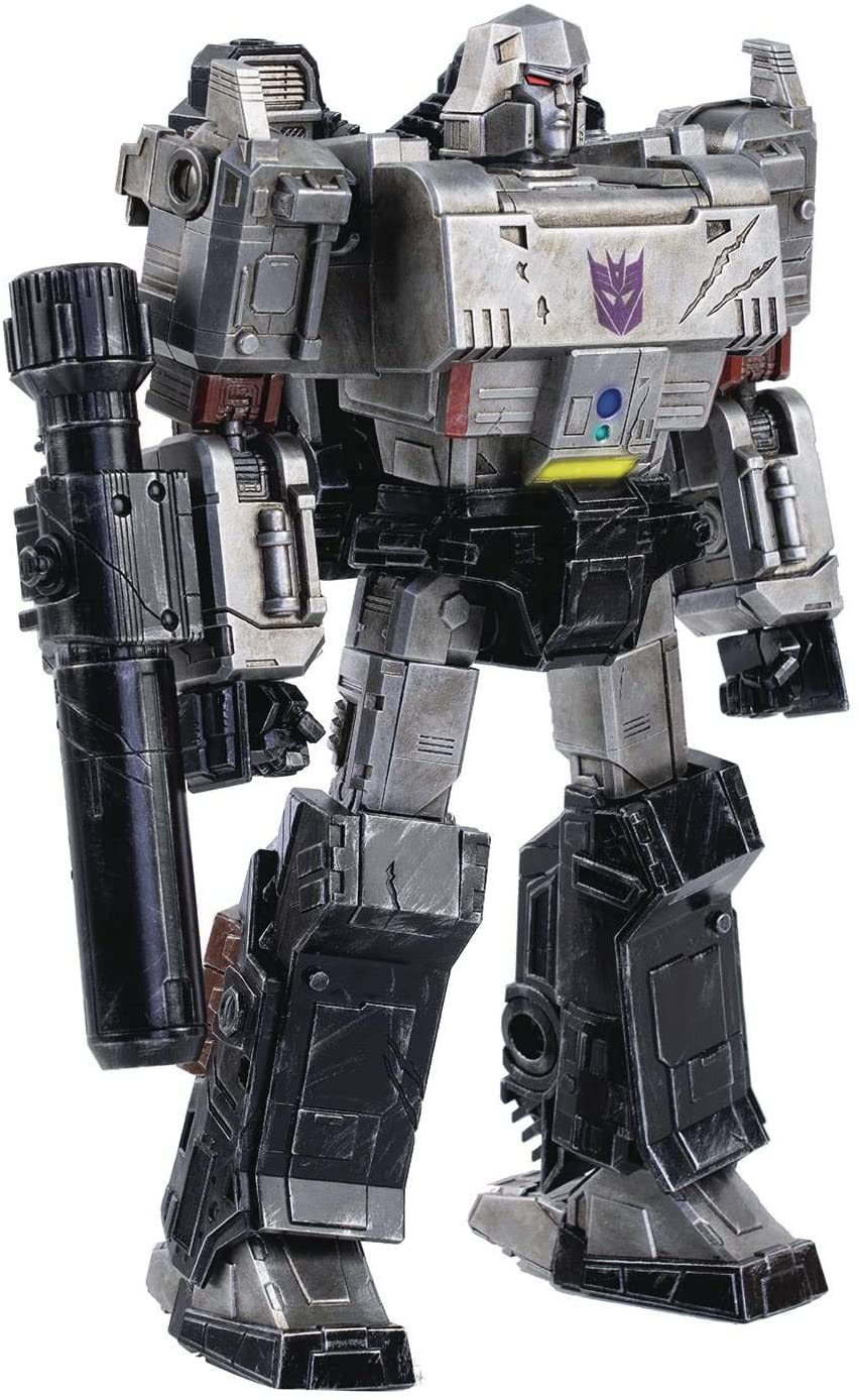 Image of Threezero Transformers: War for Cybertron Megatron Deluxe Collectible Figure