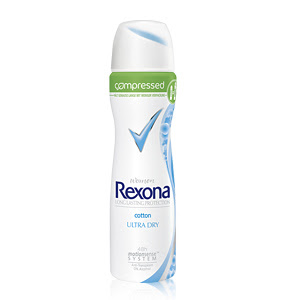 Rexona compressed Deo cotton ULTRA DRY