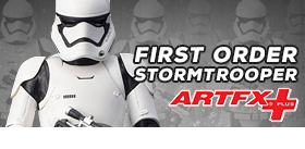 FIRST ORDER STORMTROOPER ARTFX+