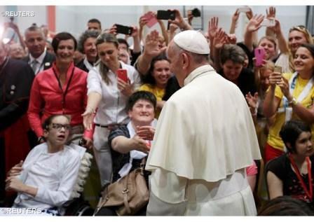 El Papa Francisco en Sarajevo (7): Encuentro con los jóvenes