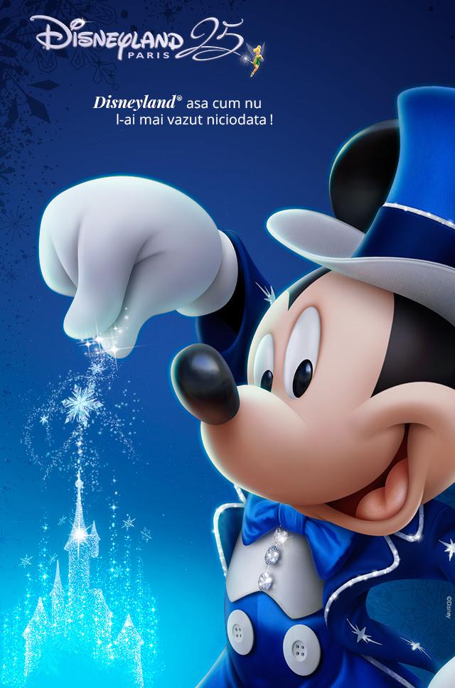 Disneyland Paris: De la 282 euro/adult si gratuitate pentru copiii pana in 7 ani!