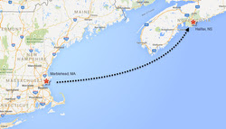 Marblehead to Halifax course