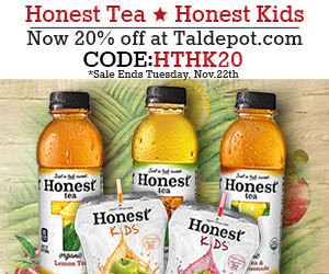 20% Off for All Honest Tea and...
