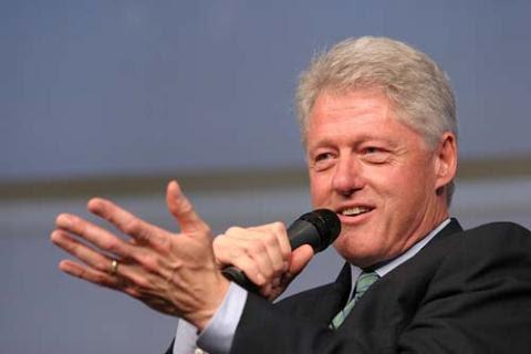 Cựu Tổng thống Bill Clinton