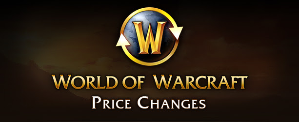World of Warcraft - Prices changes