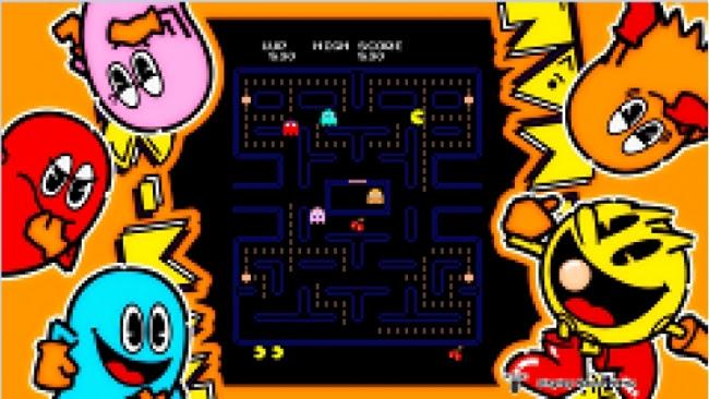 PlayStationR4用「アーケードゲームシリーズ:パックマン」