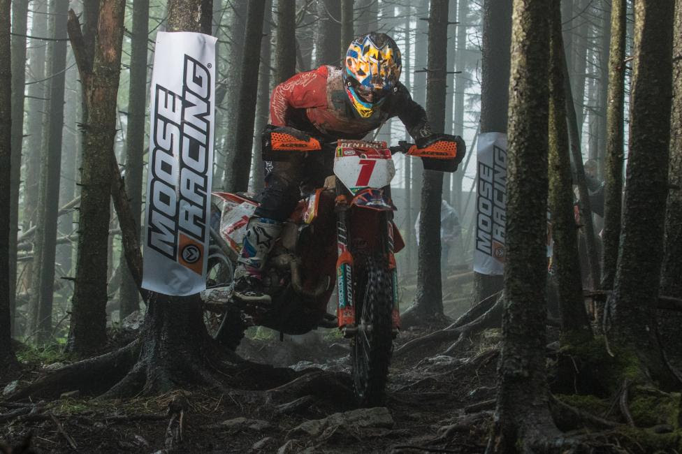 Kailub Russell is ready to battle with the rest of the XC1 Open Pro field for his eighth win of the season.