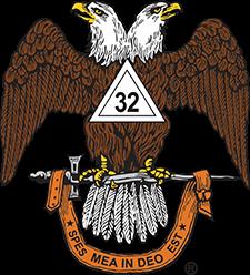 32° Scottish Rite Double-headed Eagle logo
