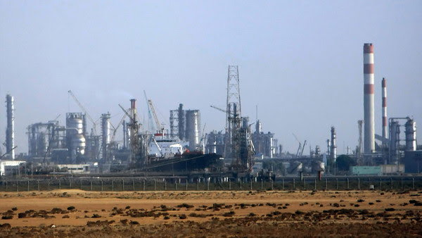 A picture shows Rabigh Refining & Petroc...A picture shows Rabigh Refining & Petrochemical Co. facilities, 120 kms north of the Red Sea Saudi city of Jeddah,12 November 2007. The Saudi and Kuwaiti oil ministers said yesterday that OPEC will discuss the possibility of raising oil output if needed to cool soaring prices. AFP PHOTO/HASSAN AMMAR (Photo credit should read HASSAN AMMAR/AFP/Getty Images)