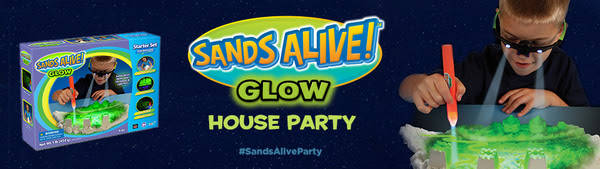Sands Alive! Glow House Party House Party
