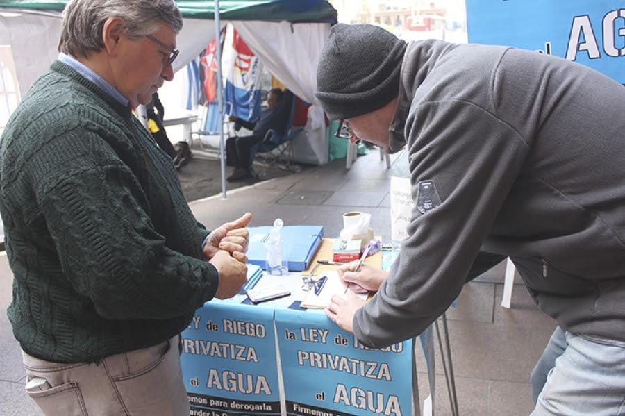 """Gustavo Ricci: """"Se termina una etapa pero la lucha por la defensa del agua continúa"""""""