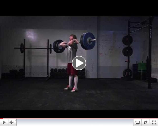 CrossFit - Oly Analysis: Chad Vaughn Clean and Jerk