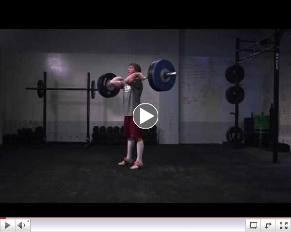 CrossFit - Oly Analysis: Chad Vaughn Clean and Jerk