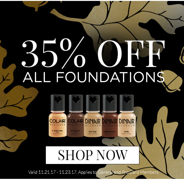 35% Off All Foundations