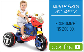 Moto Elétrica Hot Wheels