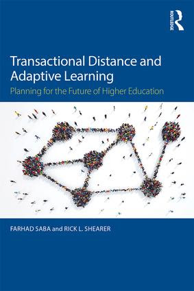 Transactional Distance and Adaptive Learning: Planning for the Future of Higher Education, 1st Edition (Paperback) book cover