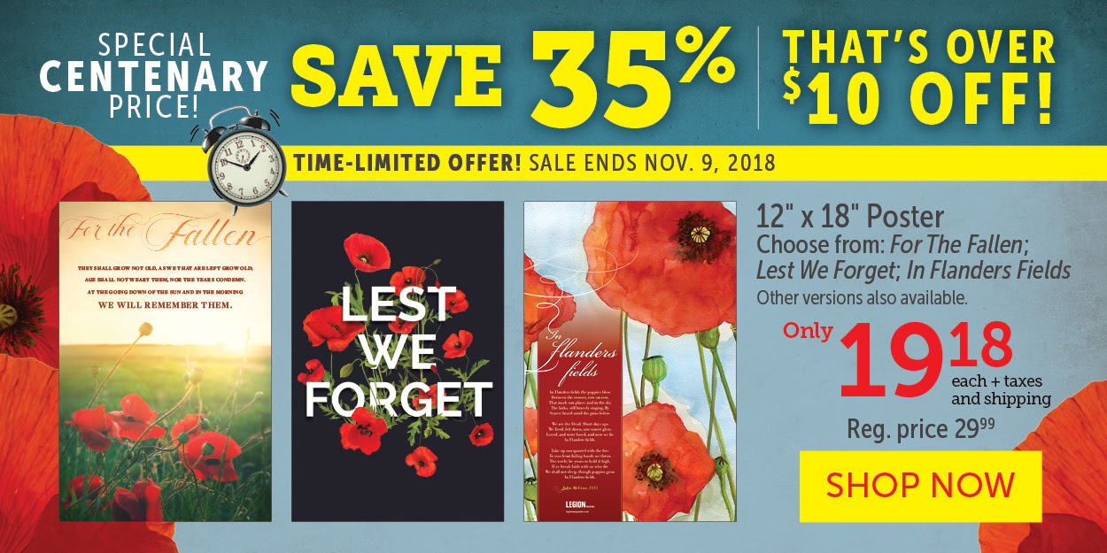 Special Centenary Price - $19.18 - Save $10!