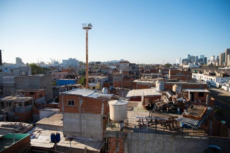 Cerca de 40 mil personas viven en la Villa 31 (Foto: Franco Fafasuli)