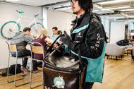 The Deliveroo offices in central London. The company operates in 12 countries, mostly in Europe.