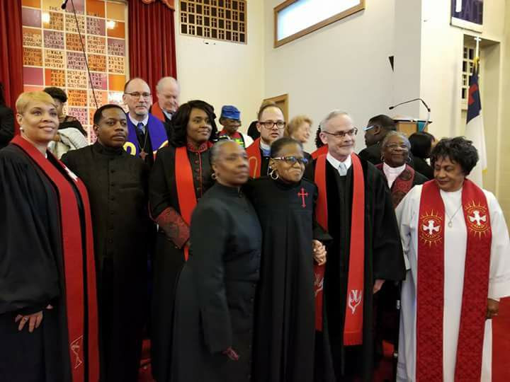 A very ecumenical installation service for Rev. Terri McLellan