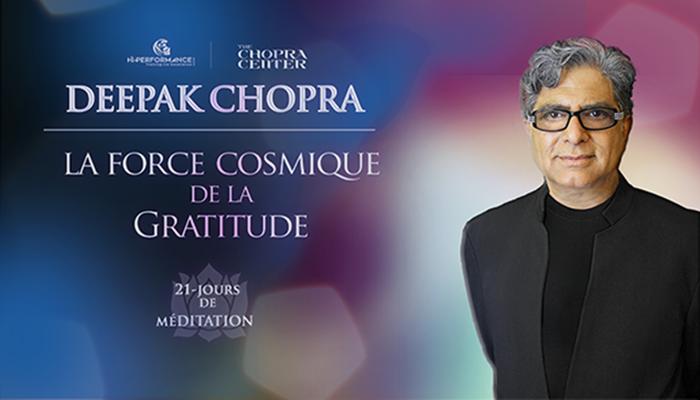 Méditations avec Deepak Chopra
