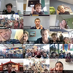A few of the kanohi who joined us on Zoom