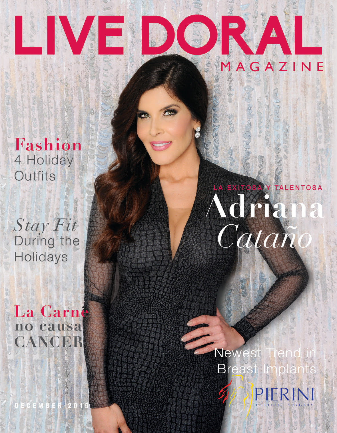 Adriana  Special Feature December Cover