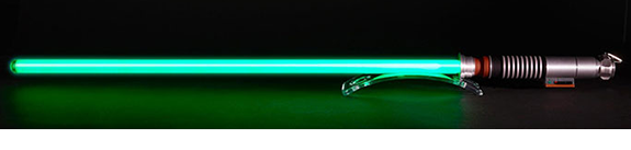 STAR WARS LUKE SKYWALKER FX LIGHTSABER