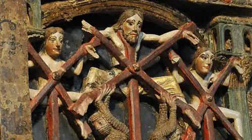 Hoy es fiesta de los santos mártires Vicente, Sabina y Cristeta de Talavera