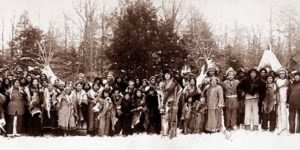 Iroquois Indian tribe, 1914