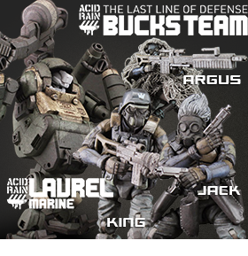 NEW ACID RAIN FIGURES AND VEHICLE