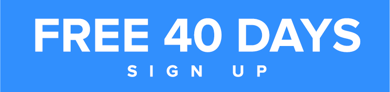 Sign up for 40 days free!