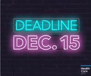 Deadline December 15