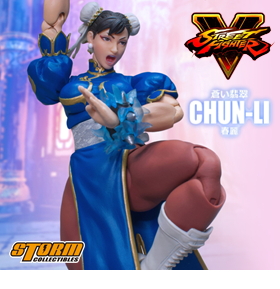 STREET FIGHTER V CHUN-LI 1/12 SCALE FIGURE