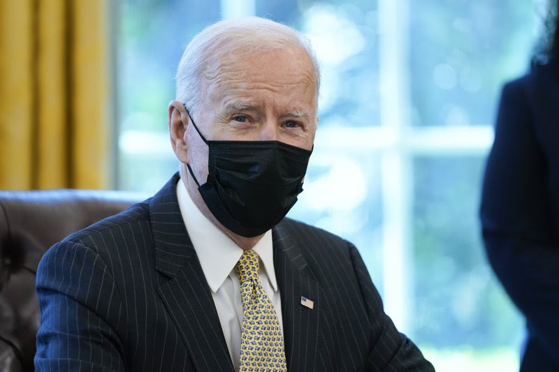 Today marks President Joe Biden's very first Cabinet meeting