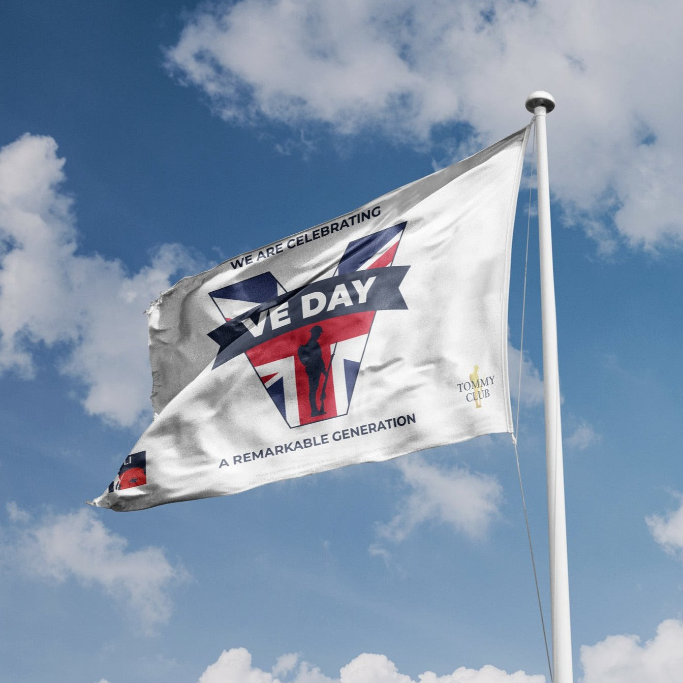 VE Day 2021 Flag Large