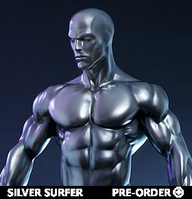 Marvel Silver Surfer Maquette